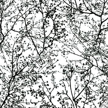 13264-70 graphics alive papier peint noir/blanc/motif branches ...