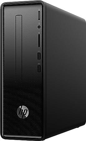 HP Slimline Desktop 290-a0022ns Ordinateur de Bureau APU AMD Dual-Core A4-9125 4 Go RAM 256 Go SSD AMD Radeon R3 Noir Intense