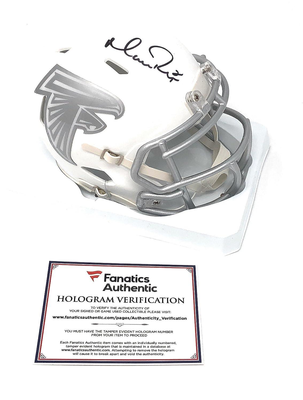 Matt Ryan Atlanta Falcons Signed Autograph ICE Mini Helmet Fanatics Authentic Certified