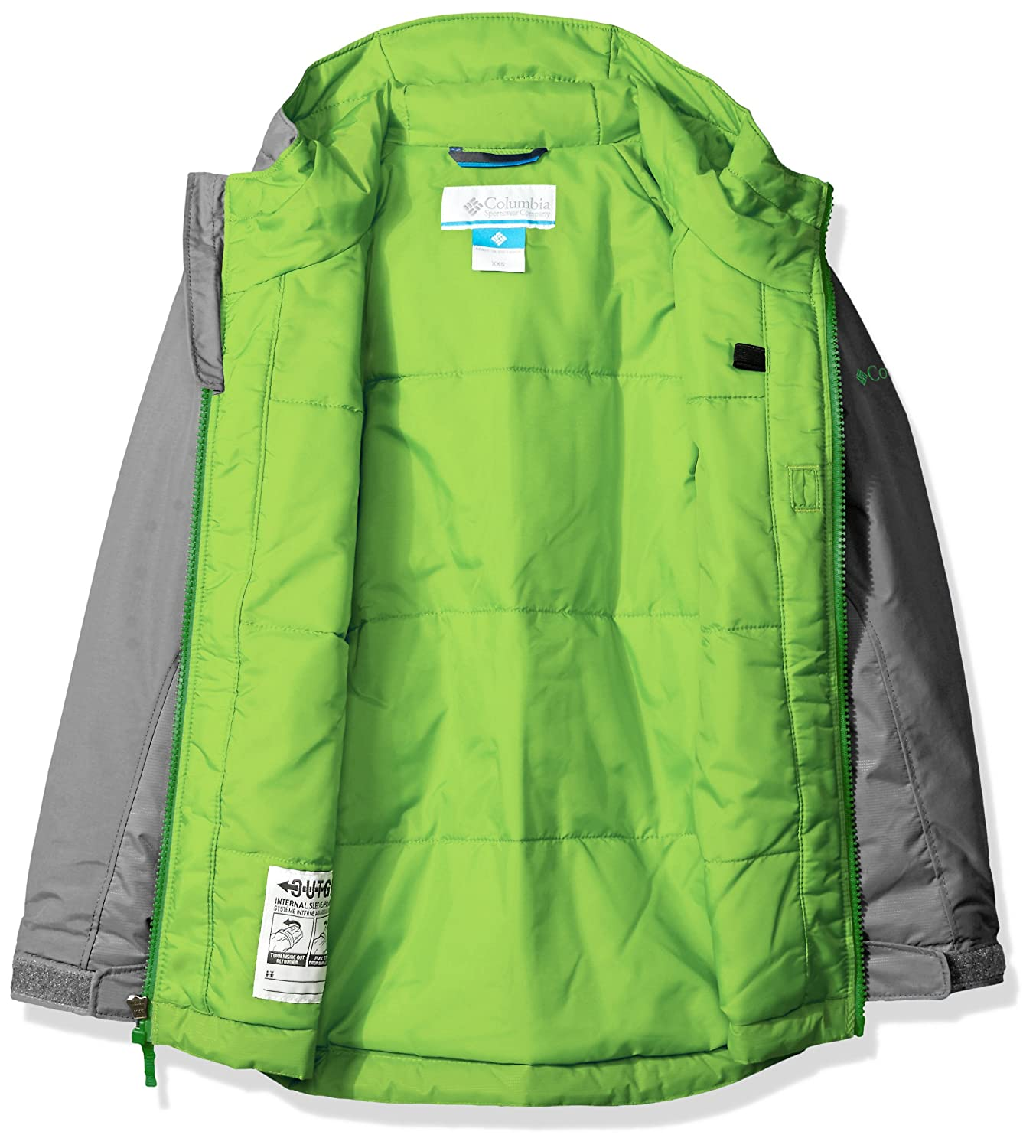 10ee99c7e006 Amazon.com  Columbia Boys  Snow Pumped Jacket  Clothing