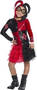 Rubie's Costume Girls DC Comics Harley Quinn Costume, Small, Multicolor (610167)