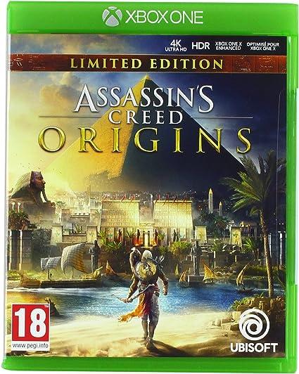 Assassins Creed Origins - Edición Limited (Edición Exclusiva Amazon): Amazon.es: Videojuegos