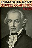 Emmanuel Kant - Oeuvres Complètes (Annoté): lci-25