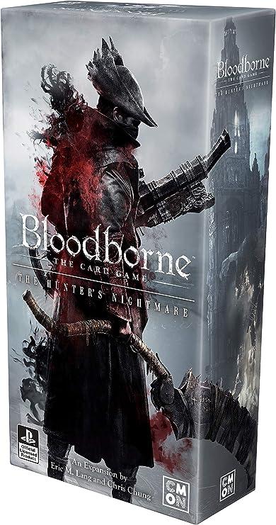 Amazon Com Cmon Bloodborne The Hunter S Nightmare Toys Games