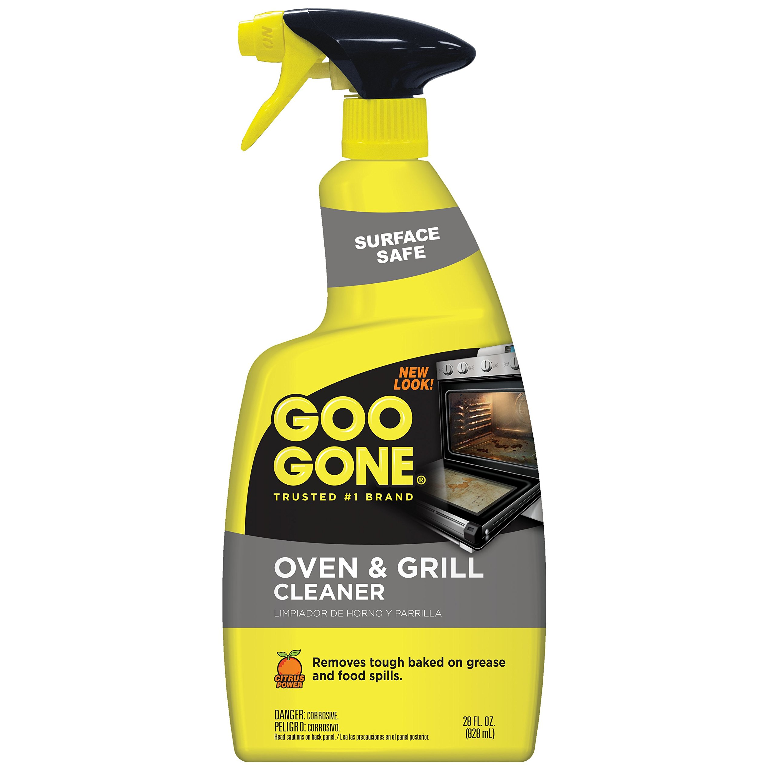 Goo Gone Oven and Grill Cleaner - 28 Ounce - Removes Tough Baked On Grease and Food Spills Surface Safe by Goo Gone
