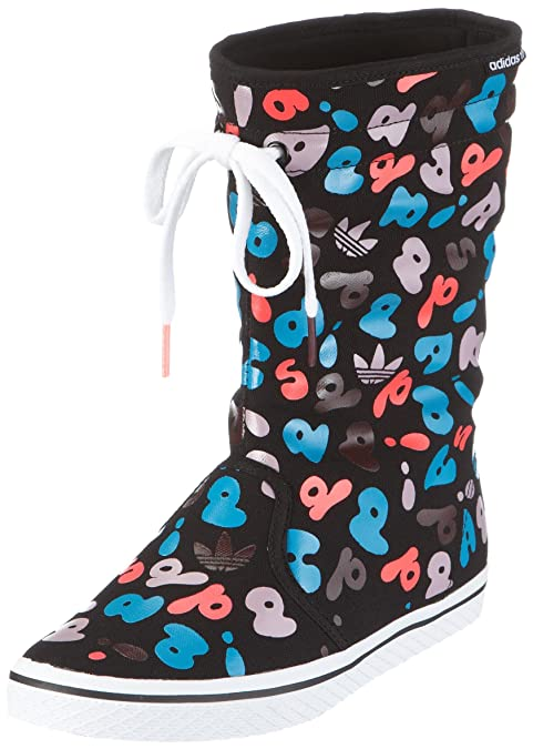 07cb5051b5f2 adidas Originals HONEY BOOT W G50429, Damen, Sneaker, Schwarz (BLACK ...