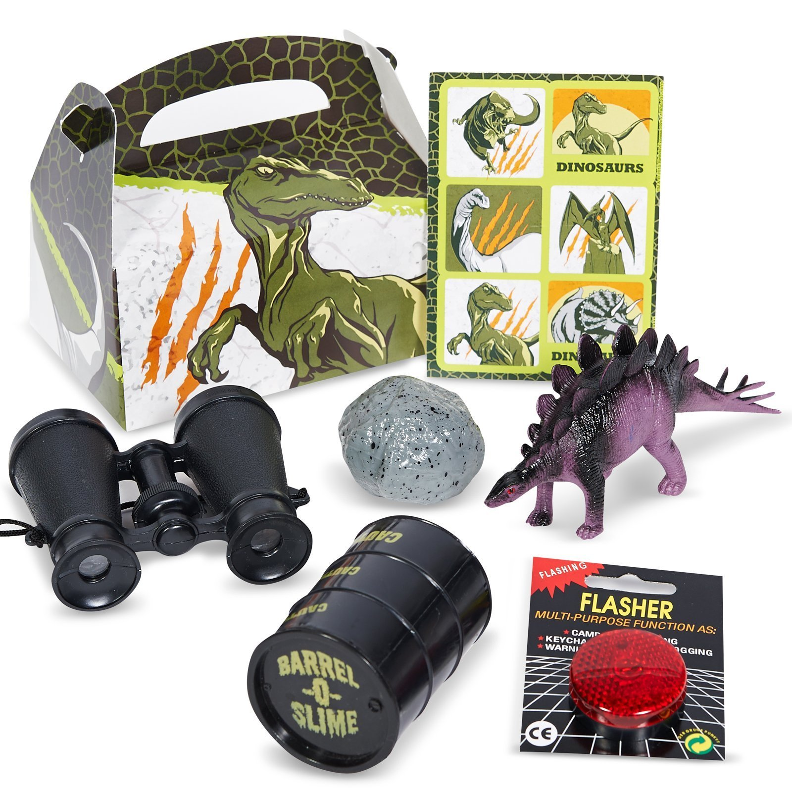Dinosaur T-Rex Party Supplies - Filled Party Favor Box 2