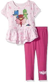 PJMASKS PJ Masks Toddler Girls 2 Piece Top and Legging Set