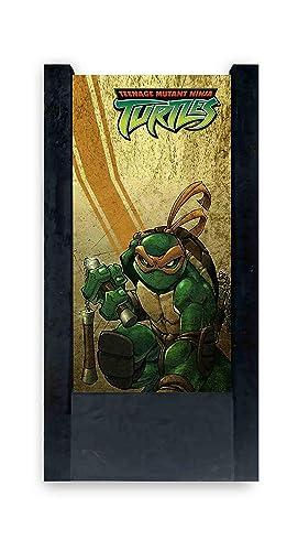 Lámpara de mesa negra Tortugas Ninja - Michelangelo: Amazon ...