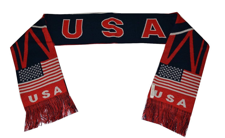 USA Soccer Scarf National Team Us Flag Usa Patriotic American Flag Scarf