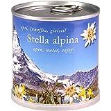 STELLA ALPINA Fiori in Lattina MACFLOWERS made in Germany cm 7,5x8 h. Stappa, annaffia e divertiti!