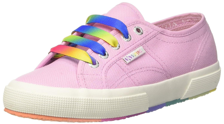 Superga 2750-Cotw Multicolors Outsole, Zapatillas para Mujer 38 EU|Rosa (Pink Lavender G30)