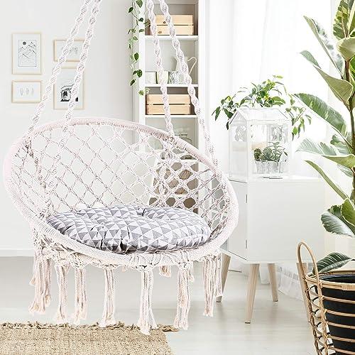 Ohuhu Hammock Chair Hanging Chair Swing