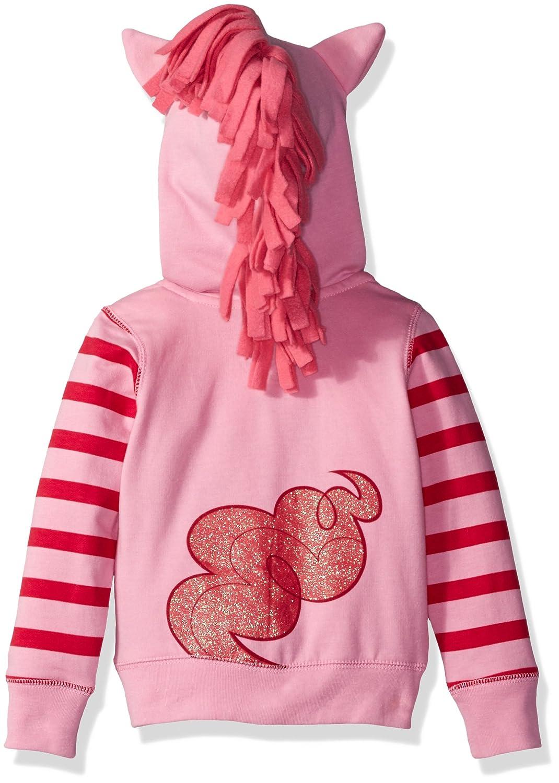 My Little Pony Girls Pinky Pie Hoodie//Tee Bundle