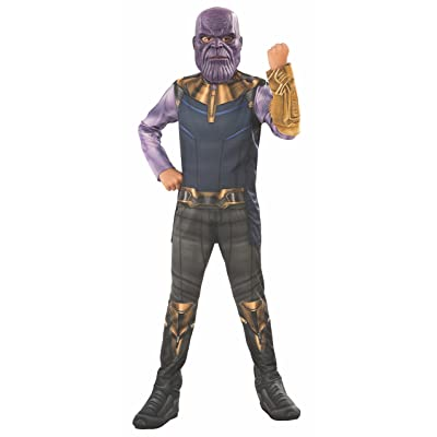 Rubie's Marvel Avengers: Infinity War Thanos Child's Costume, Small: Toys & Games