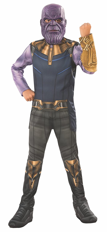 Avengers - Disfraz Thanos para niño, 3-4 años (RubieS 641055-S)