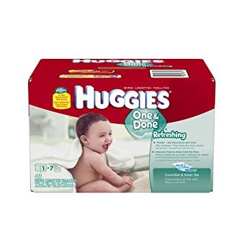 Huggies One & Done Refreshing Baby Wipes Refill - 448ct