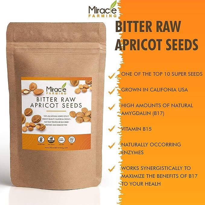 Amazon.com: Bitter Apricot Seeds/Kernels, California USA ...