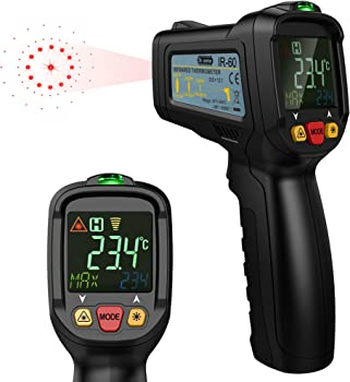 Dr. Meter Infrared Thermometer Temperature Gun
