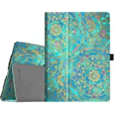 Fintie iPad Pro 10.5 Case - [Corner Protection] Premium PU Leather Smart Folio Cover with Auto Sleep/Wake Feature for Apple iPad Pro 10.5 Inch 2017 Release Tablet, Shades of Blue