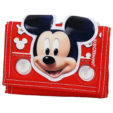 Disney Mickey Mouse Funny Billetera Chica Nina Monedero ...