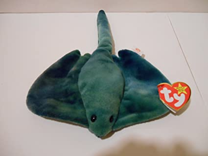 3b5d8a41fe0 Image Unavailable. Image not available for. Color  TY Beanie Baby - STING  the Stingray ...