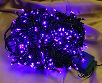 400 Chasing Blue Coloured LED Christmas Lights with extra long ...