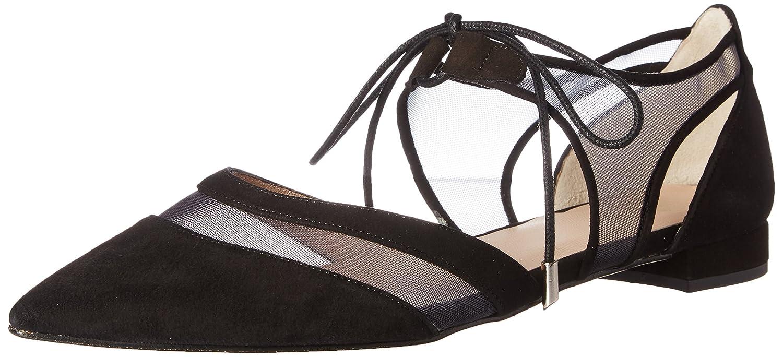Andre Assous Women's Maddie Pointed Toe Flat B01LZD4K8B 8 B(M) US|Black
