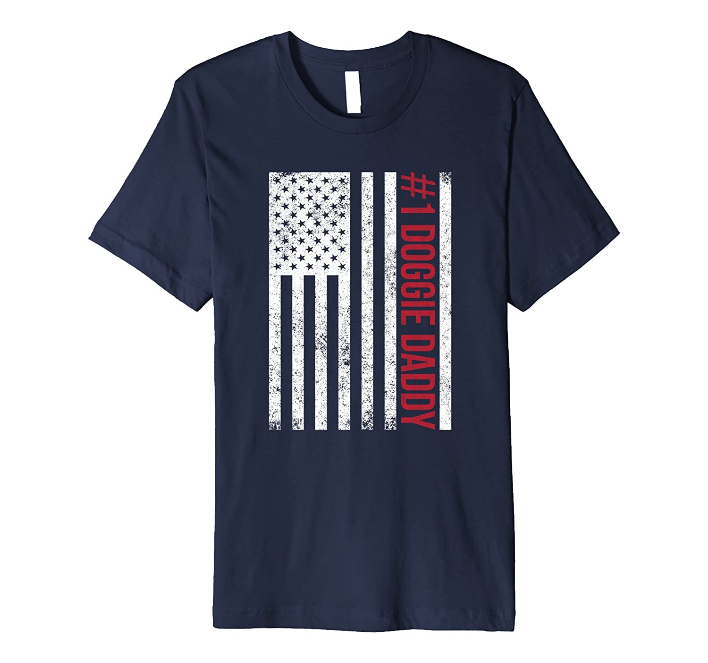 14th Birthday Gift Idea 14 Year Old Boy Girl Shirt 2003 PL Mens 1 Doggie Daddy T Fathers Day American Flag