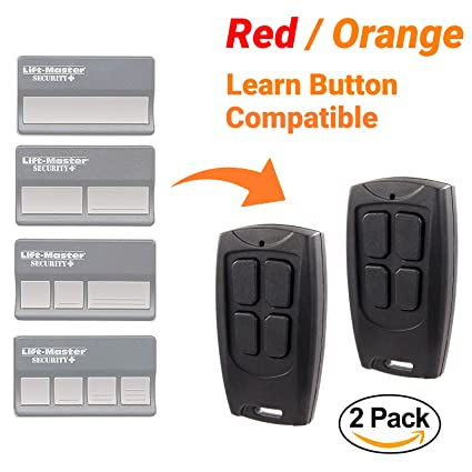 2 Pack Replacement Remote For Liftmaster Chamberlain Craftsman