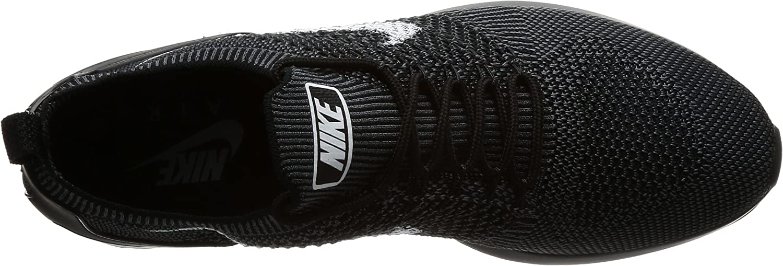 Nike Air Zoom Mariah Flyknit Racer, Chaussures de Running Compétition Homme Noir Blackwhitedark Grey