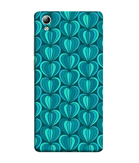 buy online c6392 bad39 VIVo Y51, VIVo Y51L Back Cover Blue Shade Print: Amazon.in: Electronics