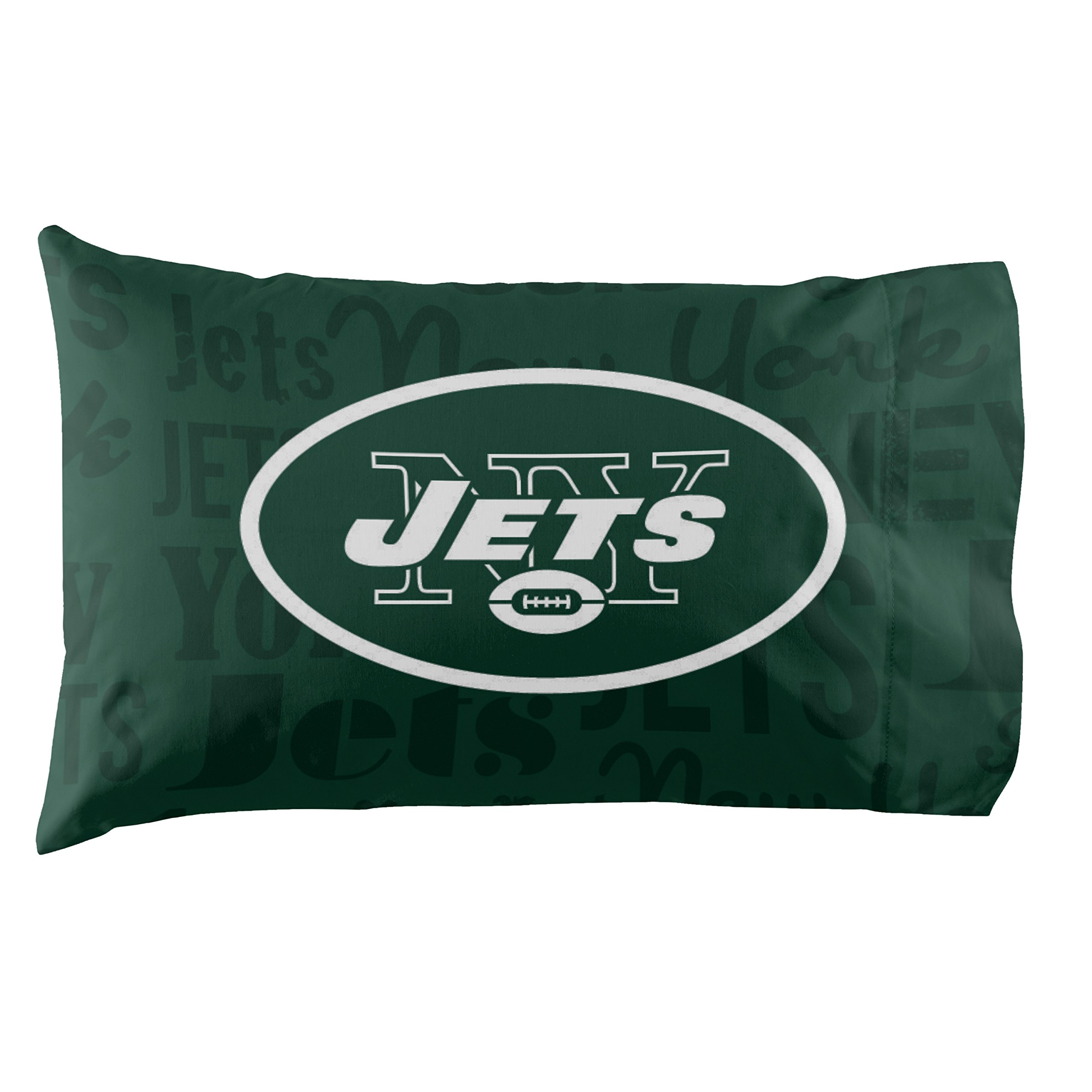 New York Jets - Set of 2 Pillowcases - NFL Football Bedroom Accessories by NW