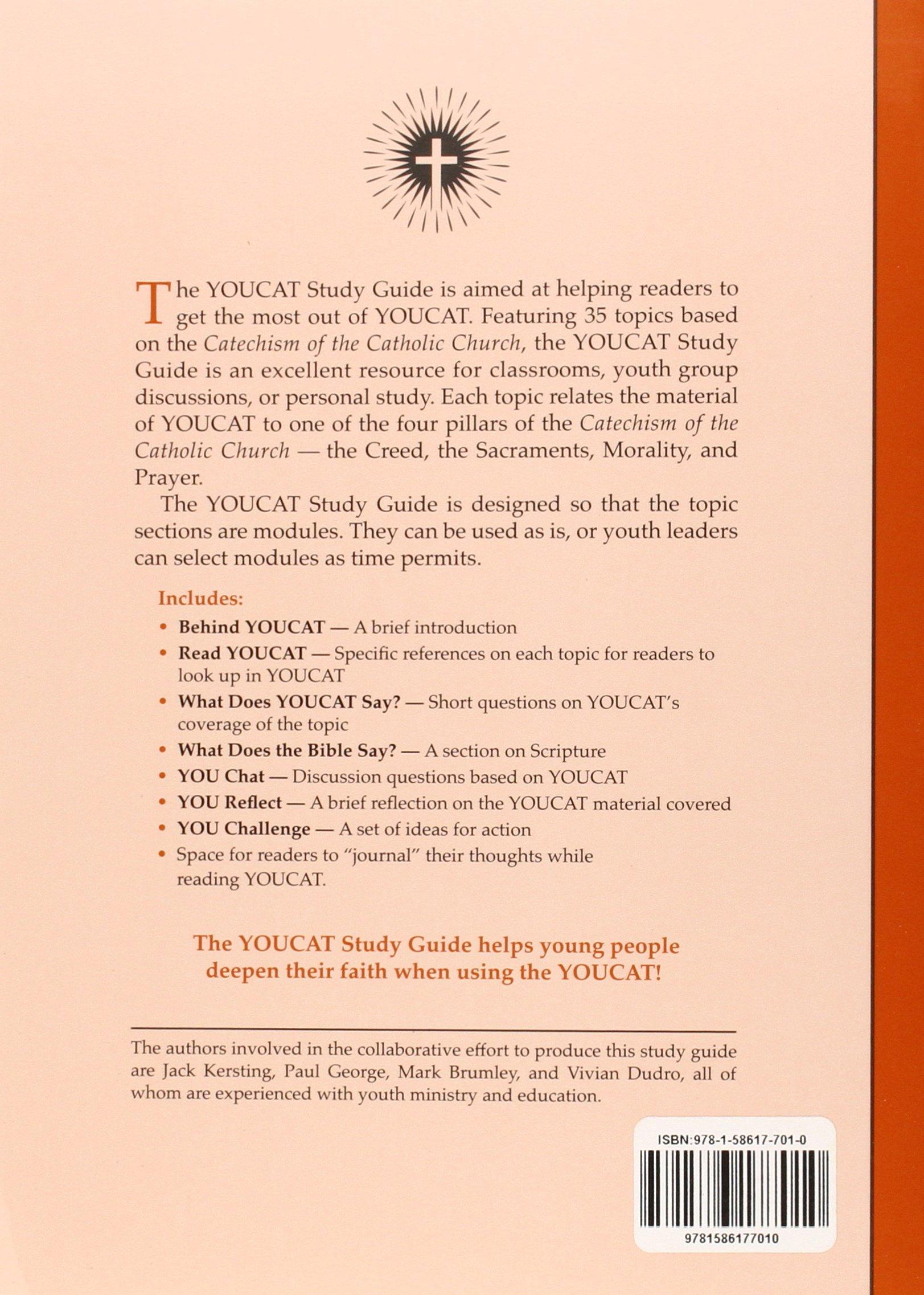 Youcat Study Guide: Mark Brumley, Jack Kersting, Paul George, Vivian Dudro:  9781586177010: Amazon.com: Books