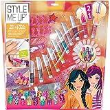 Style me up! - 1642 - Kit de Loisirs Créatifs - Ongles Parfaits