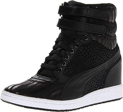 Sky Wedge Reptile Fashion Sneaker