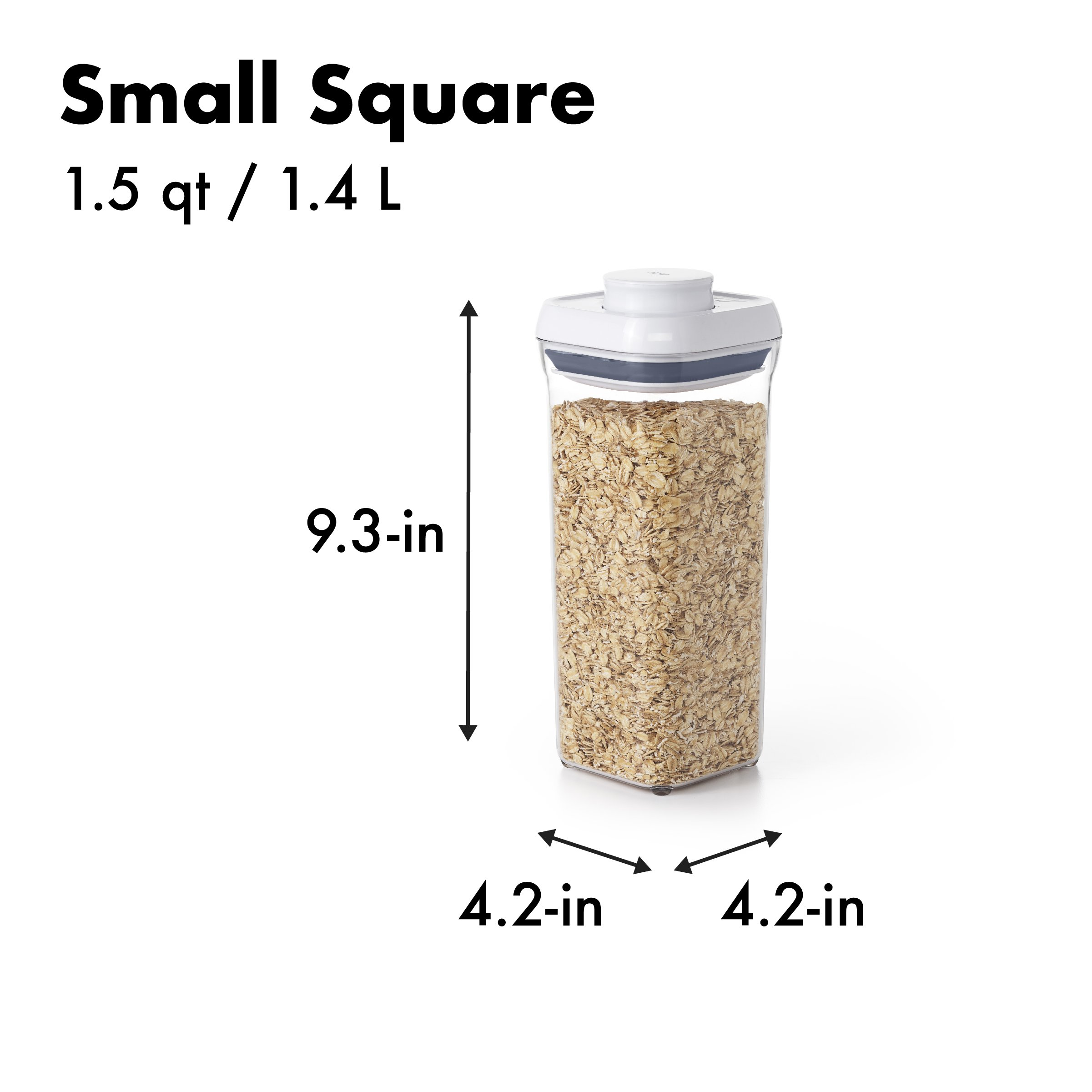 OXO Good Grips 5-Piece Airtight POP Container Set by OXO (Image #9)