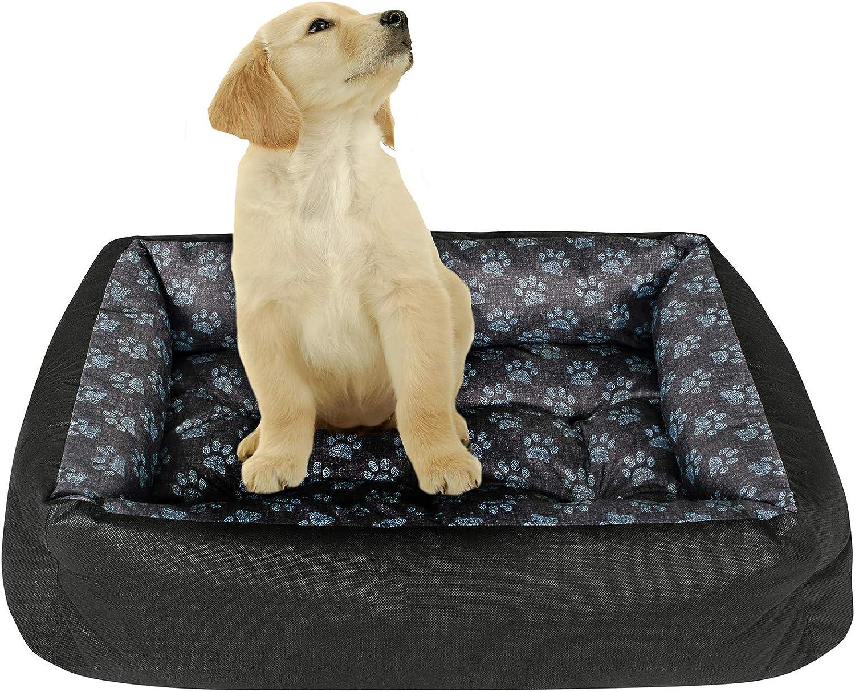 Superkissen25. Hundebett Hundekorb Hundesofa Tierbett für Kleine, Mittlere  und Grosse Hunde   Waschbar   Größe L, XL