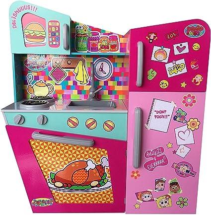 Distroller Cocina De Juguete Para Niñas Cocinita De Madera Mx Juegos Y Juguetes