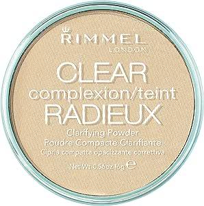 Rimmel London Clear Complexion Clarifying Powder, Transparent, 16g