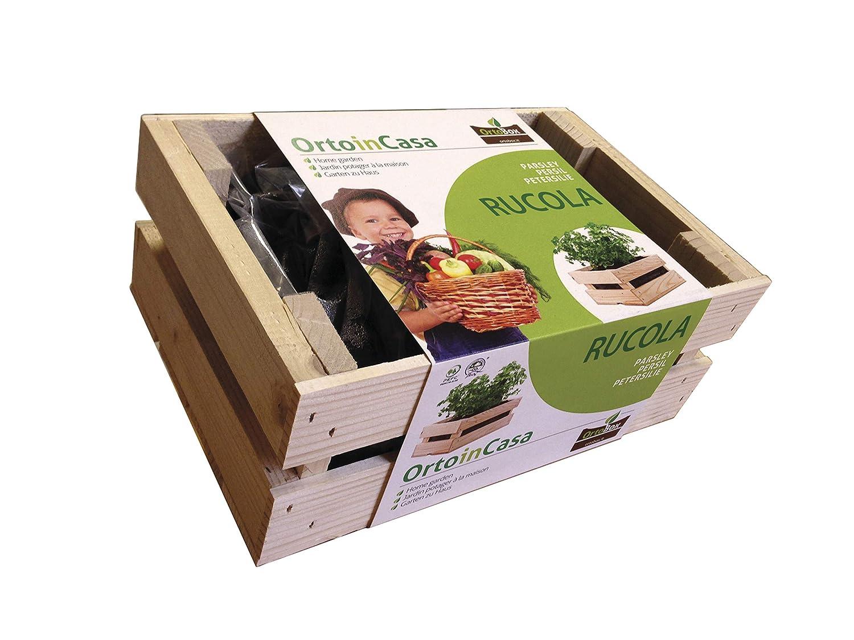 Kit para huerto en el balcón cm., TU huerto urbano. ORTO Box: caja ...