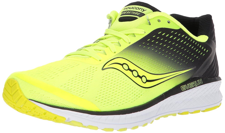 Citron noir 46 EU Saucony Breakthru 4, Chaussures de Fitness Homme