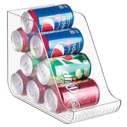 InterDesign Linus - Organizador de latas, Claro