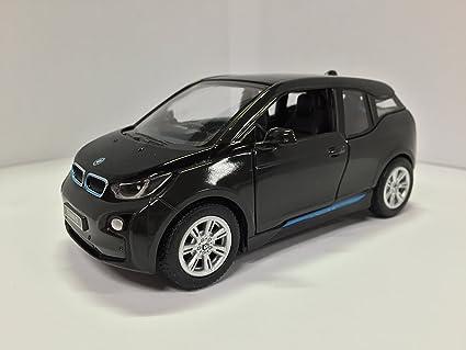 Amazon Com 1 32 Scale Bmw I3 Electric Car Model Arravani Black W