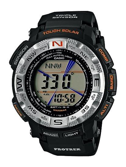 6e5e16fe391 Casio Pro-Trek PRG-260-1E - Orologio da polso Uomo  Amazon.it  Orologi