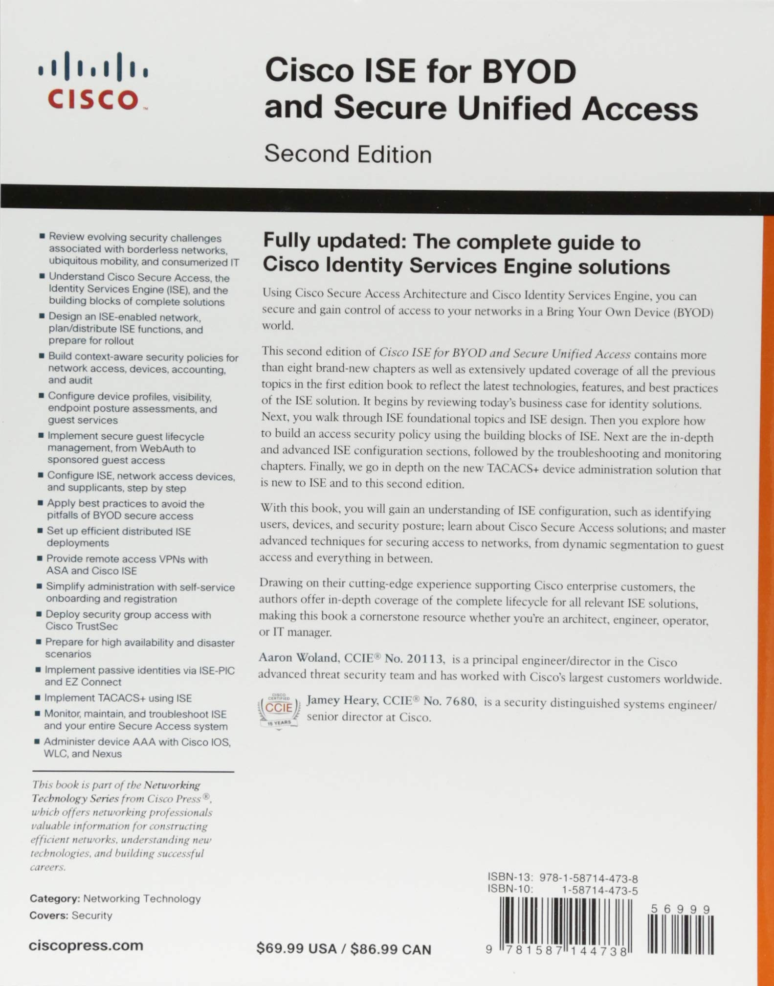 Cisco ISE for BYOD and Secure Unified Access (2nd Edition): Aaron