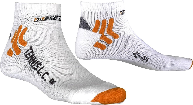 X-Socks White Bianco 35-38 Calzini Sportivi Unisex Adulto Tennis