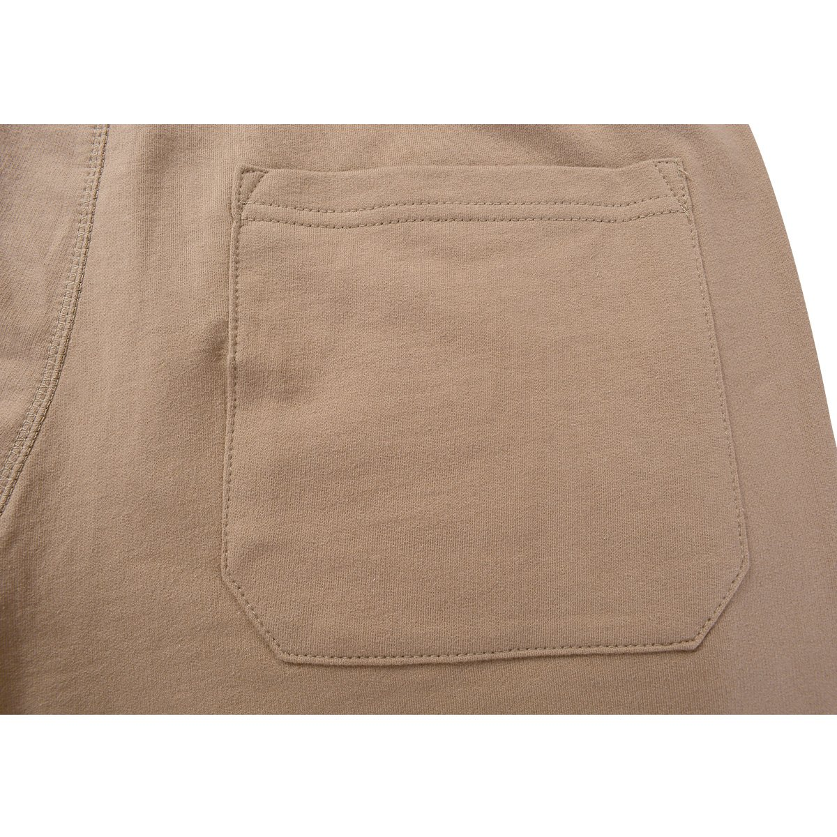Amy Coulee Men's Cotton Casual Short with Pockets (S, Brown) by Amy Coulee (Image #6)