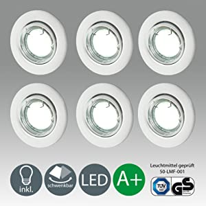 eclairage encastr guide d achat classement tests et avis. Black Bedroom Furniture Sets. Home Design Ideas