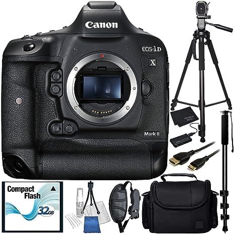Canon EOS-1D X Mark II cámara réflex paquete accesorio ...